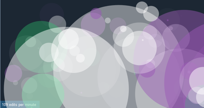 Екранен кадър на Listen to Wikipedia, 31-07-2013, 07:00:00 UTC, Лиценз: CC-BY-SA 3.0