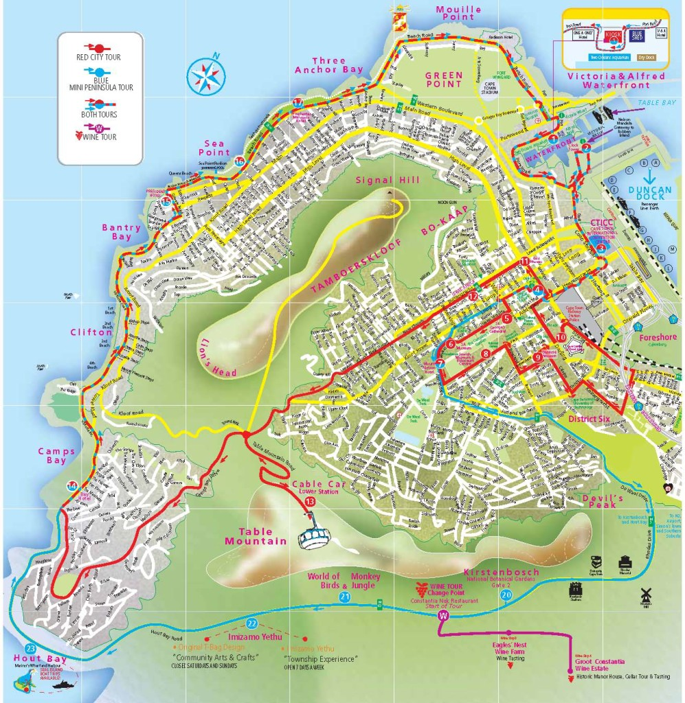243_Cape Town Route Map