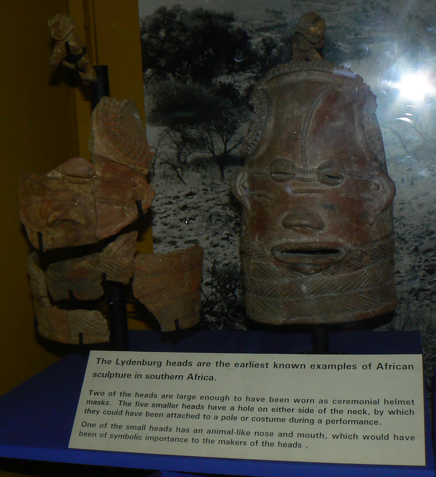 Lydenburg-heads-CapeTown-South-Africa-Museum